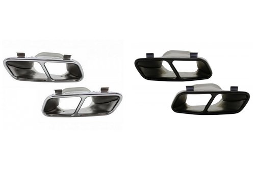 OEM LINE AMG Look Auspuff Endrohr für Mercedes Benz A-Klasse & CLA-Klasse