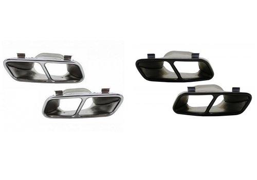 OEM LINE CLA45 AMG Look Auspuff Endrohr für Mercedes Benz CLA-Klasse W117 / C117