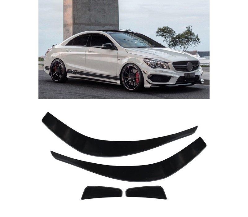 Spoiler satz für Mercedes Benz CLA-Klasse W117 / C117
