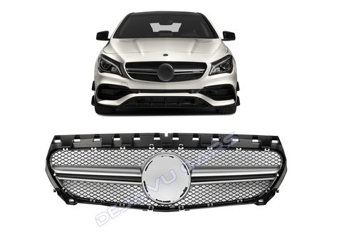 OEM LINE CLA45 AMGLook Front Grill for Mercedes Benz CLA-Class W117 / C117