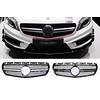 OEM LINE A45 AMG Look Front Grill for Mercedes Benz A-Class W176