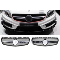 A45 AMG Look Front Grill for Mercedes Benz A-Class W176