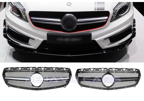 OEM LINE A45 AMG Look Front Grill voor Mercedes Benz A-Klasse W176