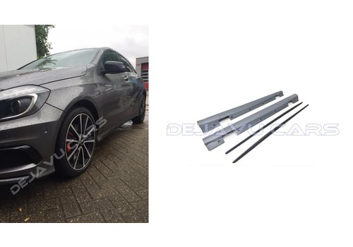 OEM LINE A45 AMG Look Side skirts for Mercedes Benz A-Class W176