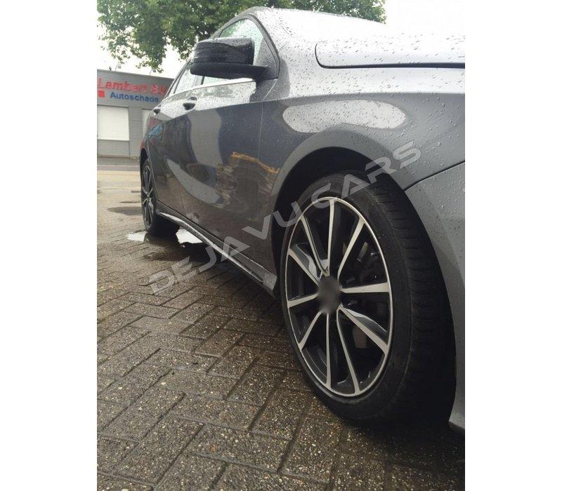 A45 AMG Look Side skirts voor Mercedes Benz A-Klasse W176