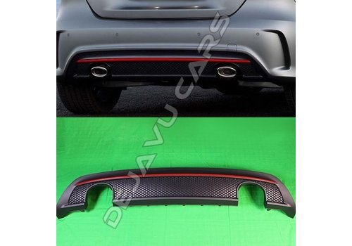 OEM LINE AMG Look Diffuser for Mercedes Benz A-Class W176