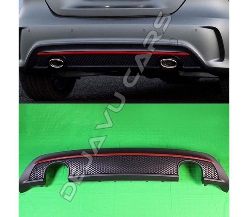 AMG Look Diffusor für Mercedes Benz A-Klasse W176