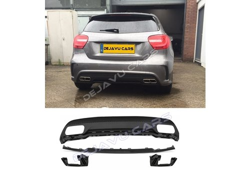OEM LINE A45 AMG Look Diffuser for Mercedes Benz A-Class W176