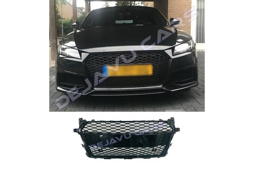 OEM LINE RS Look Front Grill Black Edition for Audi TT