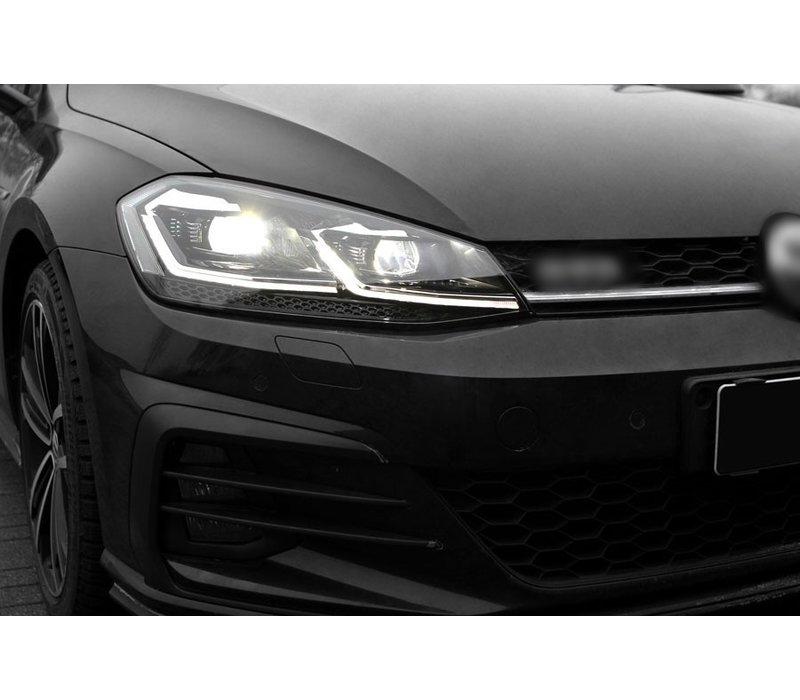 VW Golf 7.5 Facelift Xenon Look Dynamisch LED Scheinwerfer für Volkswagen Golf 7 Facelift
