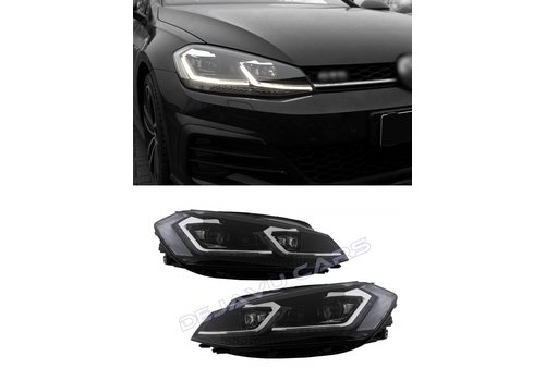 OEM LINE VW Golf 7.5 Facelift Xenon Look Dynamic LED Headlights for Volkswagen Golf 7 Facelift