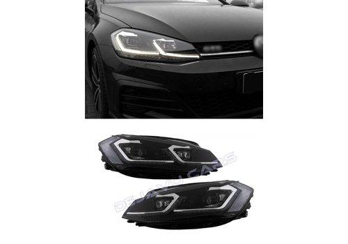 OEM LINE® VW Golf 7.5 Facelift Xenon Look Dynamische LED Koplampen voor Volkswagen Golf 7 Facelift