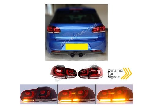 OEM LINE R20 / GTI Look Dynamic LED Tail Lights for Volkswagen Golf 6