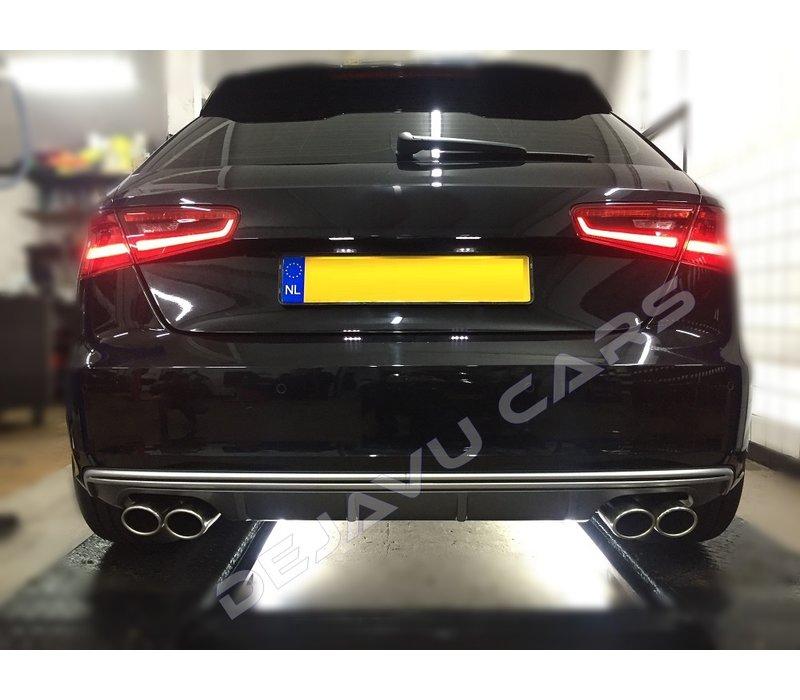 S3 Look Exhaust system for Audi A3 8V Sportback / Hatchback