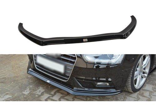Maxton Design Front splitter voor Audi A4 B8.5