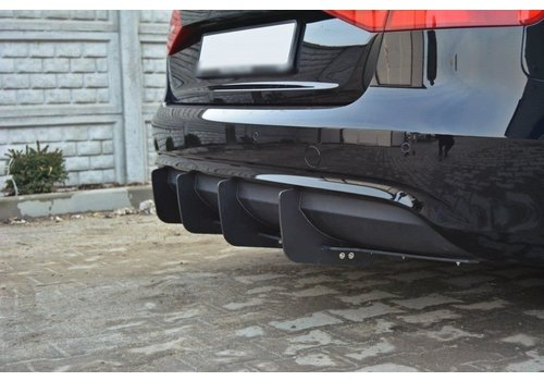 Maxton Design Aggressive Diffuser voor Audi A4 B8.5