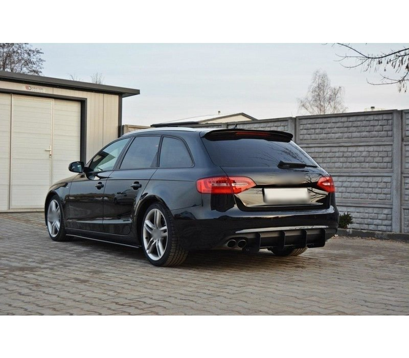 Aggressive Diffusor für Audi A4 B8.5