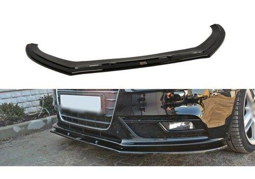 Maxton Design Front splitter V2 for Audi A4 B8.5