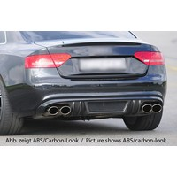 Sport Diffuser voor Audi A5 8T Coupe / Cabrio S line / S5
