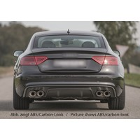 S5 Look Diffusor für Audi A5 8T Sportback S line / S5