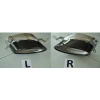RS5 Look Diffuser for Audi A5 8T Coupe / Cabrio S line / S5