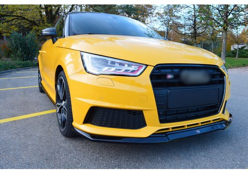 Maxton Design Front splitter for Audi S1 8X Facelift