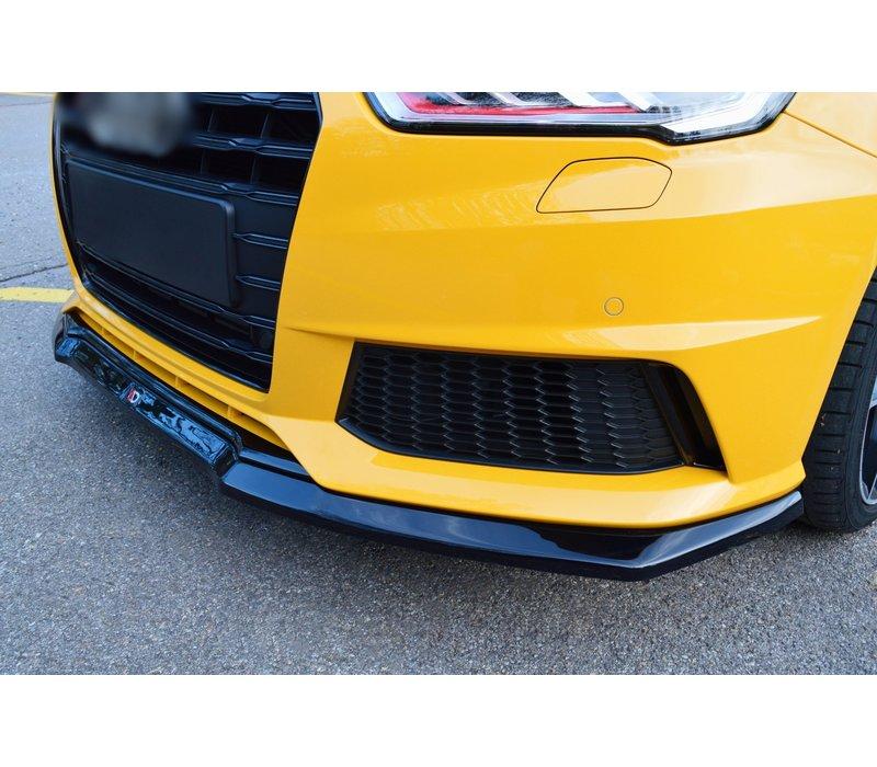 Front splitter voor Audi S1 8X Facelift