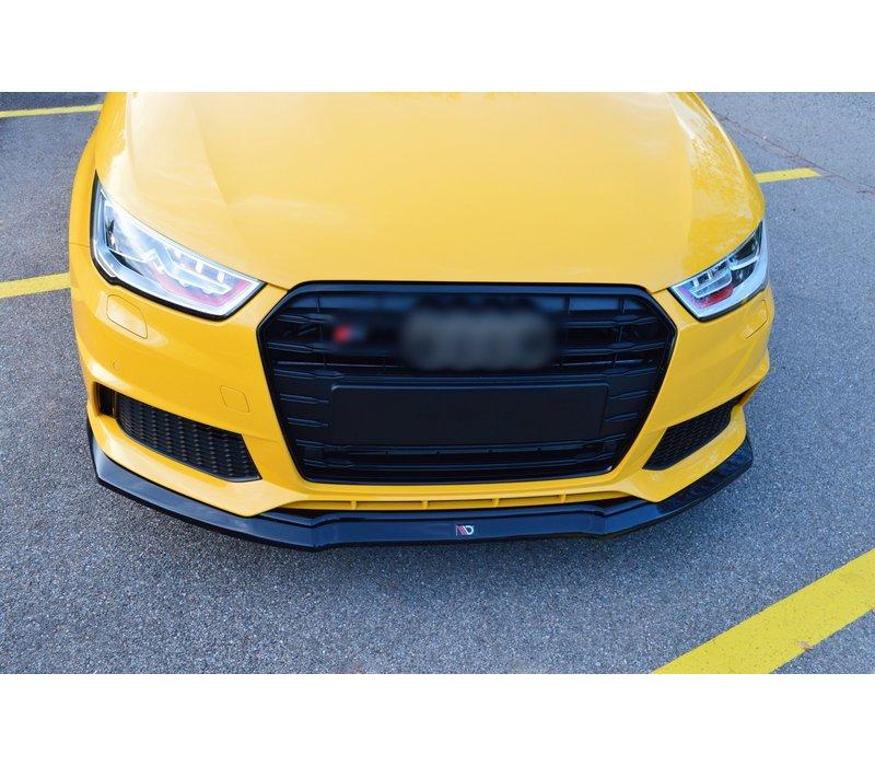 Front splitter for Audi S1 8X Facelift