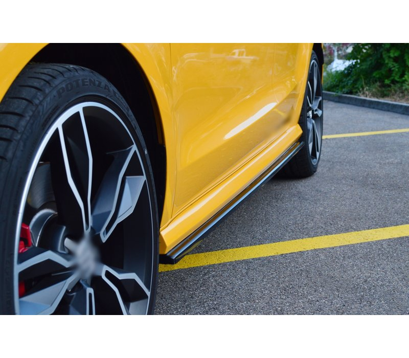 Side skirts Diffuser for Audi S1 8X Facelift