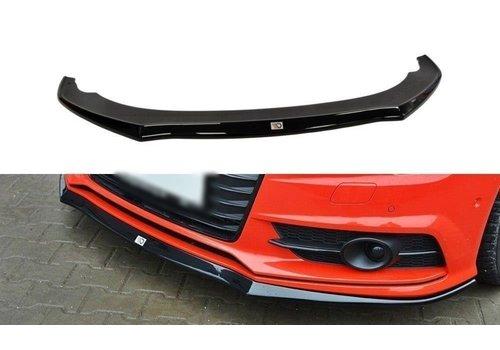 Maxton Design Front splitter voor Audi A7 Facelift S line / S7