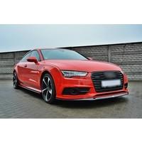 Front splitter voor Audi A7 Facelift S line / S7