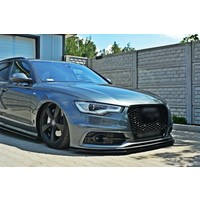 Front splitter for Audi A6 C7 S line / S6