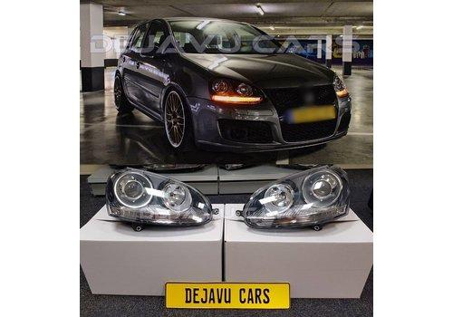 DEPO GTI / R32 Xenon Look Koplampen voor Volkswagen Golf 5 & Jetta 3