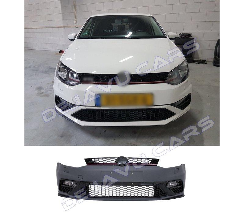 Facelift GTI Look Voorbumper voor Volkswagen Polo 5 (6R/6C)