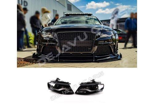 DEJAVU CARS - OEM LINE LED Headlights Bi Xenon look for Audi A4 B8