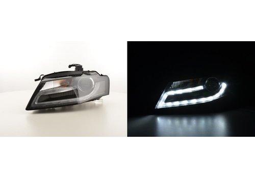 DEJAVU CARS - OEM LINE LED Koplampen Bi Xenon Facelift look voor Audi A4 B8