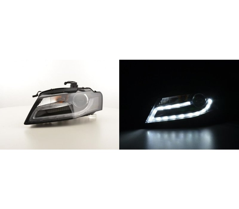 LED Scheinwerfer Bi Xenon Facelift look für Audi A4 B8