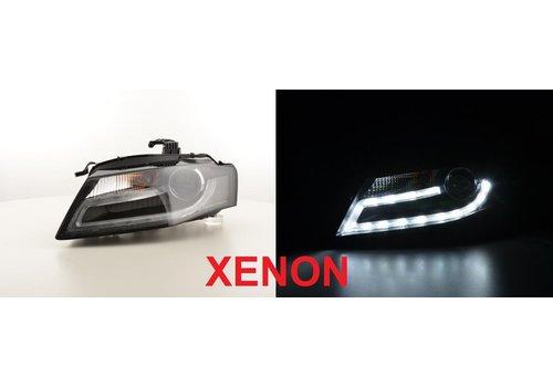 OEM LINE LED Koplampen Bi Xenon Facelift look voor Audi A4 B8