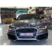 RS6 Look Voorbumper voor Audi A6 C7 4G