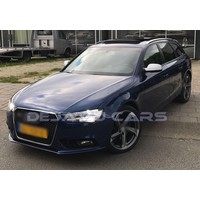 RS4 Look Mistlamp Roosters Black Edition voor Audi A4 B8.5