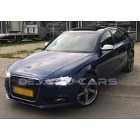 RS4 Look Nebelscheinwerfer Blenden Black Edition für Audi A4 B8.5