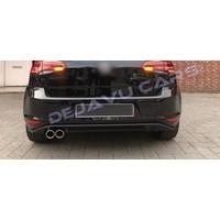 Facelift GTD Look Diffuser voor Volkswagen Golf 7