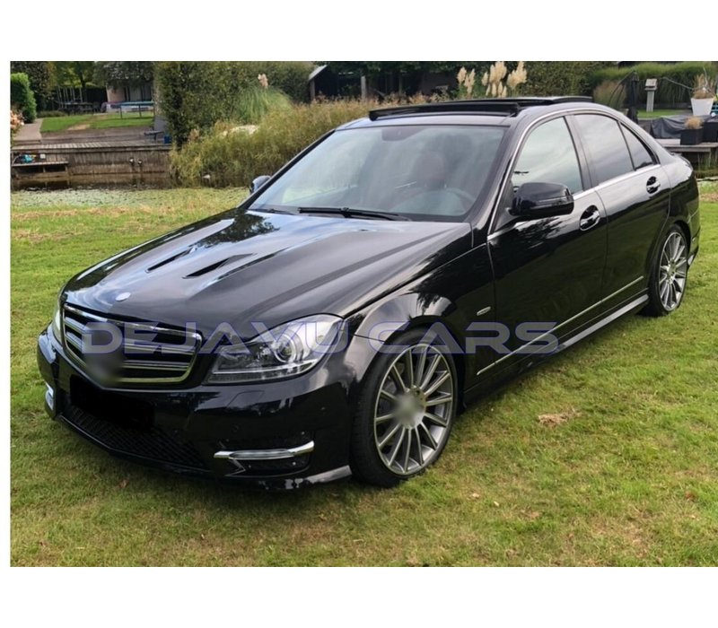 AMG  Look Side skirts for Mercedes Benz C-Class W204