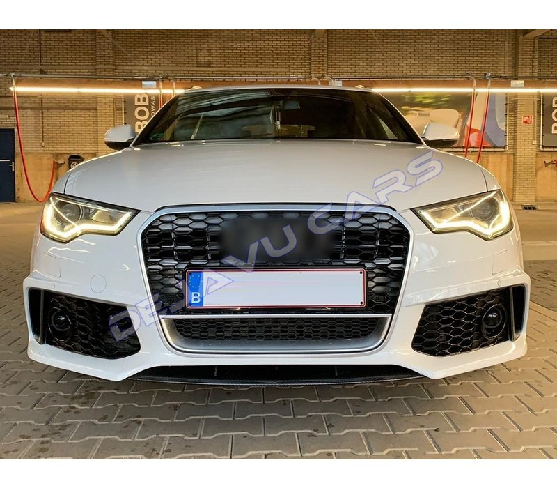 RS6 Look Front bumper for Audi A6 C7 4G