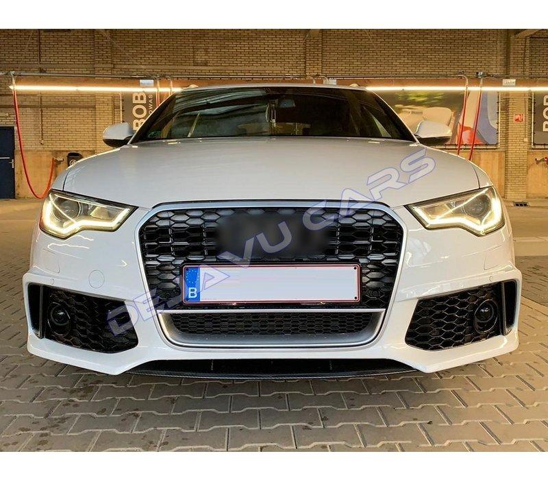 RS6 Look vordere Stoßstange für Audi A6 C7 4G