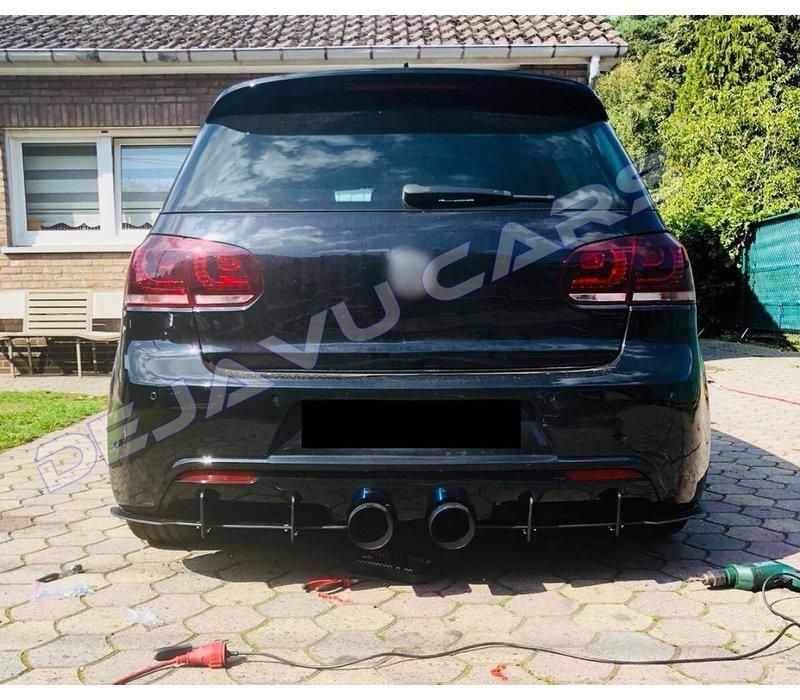 Aggressive Diffuser voor Volkswagen Golf 6 R20