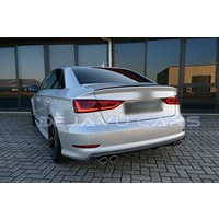 S3 Look Diffusor für Audi A3 8V S line / S3