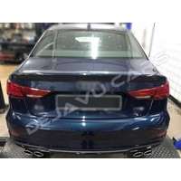 S3 Look Uitlaat systeem voor Audi A3 8V Sedan