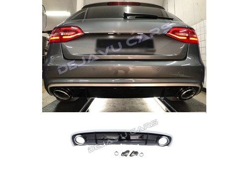 OEM LINE RS4 Look Diffuser for Audi A4 B8.5