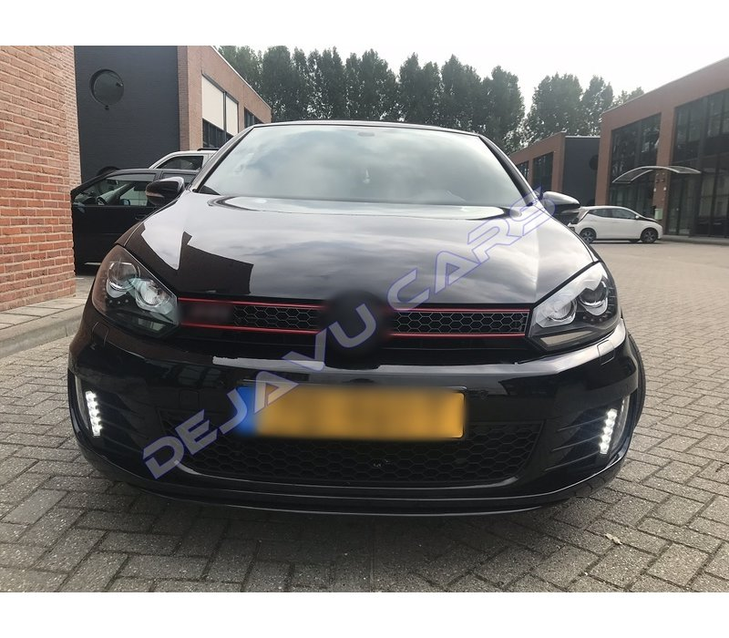 R20 / GTI Bi-Xenon Look LED Headlights for Volkswagen Golf 6